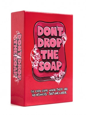 don't drop the soap partyspel, kaartspel