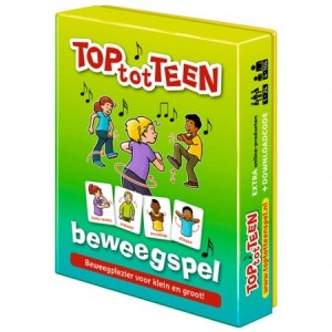Dubbelzes: Top tot Teen - beweegspel