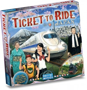 Ticket to Ride uitbr. Japan en Italy - bordspel