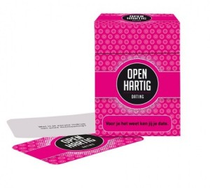 Open Up!: Openhartig Dating - vragenspel
