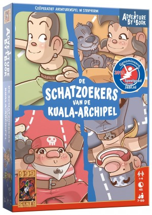 999 Games: Adventure by Book - Schatzoekers van de Kuala-Archipel - avonturenspel