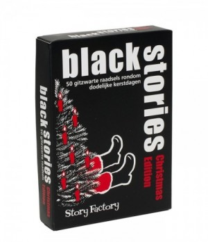 Story Factory: Black Stories Christmas Edtion - kaartspel