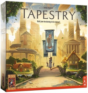 999 Games: Tapestry - bordspel