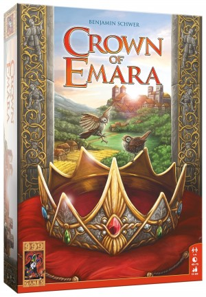 999 Games: Crown of Emara - bordspel