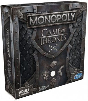 Hasbro: Monopoly Game of Thrones (music) - Engelstalig bordspel
