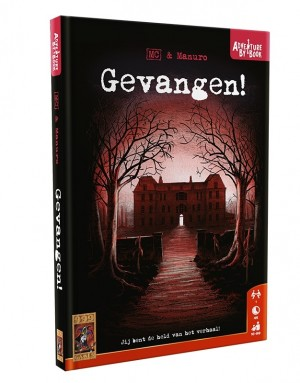 999 Games: Adventure by Book Gevangen - avonturenspel