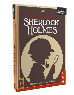 999 Games: Adventure by Book Sherlock Holmes - avonturenspel