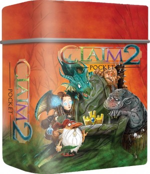 White Goblin Games: Claim 2 Pocket - reisspel