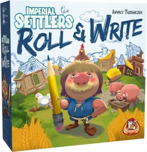 White Goblin Games: Imperial Settlers Roll and Write - dobbelspel