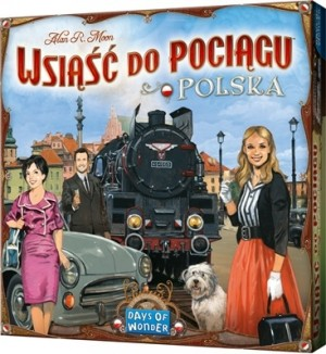 Days of Wonder: Ticket to Ride uitbr. Polska - Engelstalig bordspel
