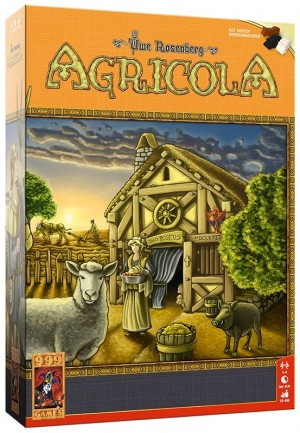 999 Games: Agricola - bordspel