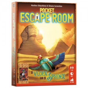 999 Games: Pocket Escape Room Vloek van de Sfinx - kaartspel
