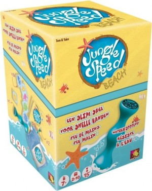 Asmodee: Jungle Speed Beach - reactiespel