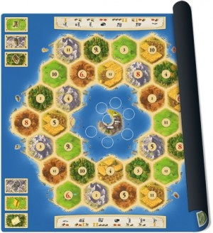 999 Games: Catan scenario Atoll - speelmat