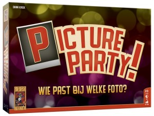 999 Games: Picture Party - partyspel