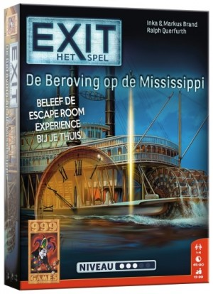 999 Games: Exit De Beroving op Mississippi - escape spel