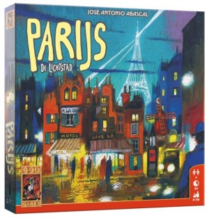 999 Games: Parijs, de lichtstad - bordspel