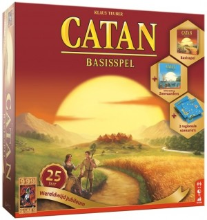 999 Games: Catan Basis Jubileumbox - bordspel