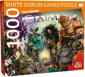 White Goblin Games: Claim legpuzzel The Throne (1000 stukjes)