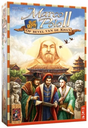 999 Games: Marco Polo 2 Op Bevel van de Khan - bordspel