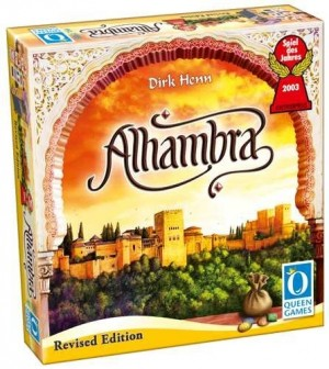 Queen Games: Alhambra Basisspel Revised edition - bordspel