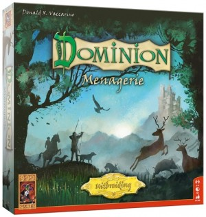 999 Games: Dominion uitbr. Menagerie - kaartspel
