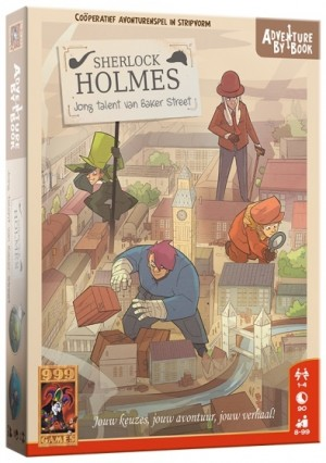 999 Games: Adventure by Book Sherlock Holmes Jong Talent - avonturenspel