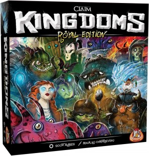 White Goblin Games: Claim Kingdoms Royal Edition - bordspel