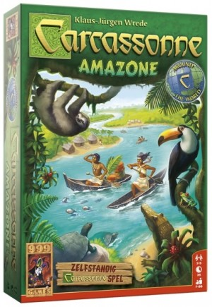 999 Games: Carcassonne Amazone - legspel