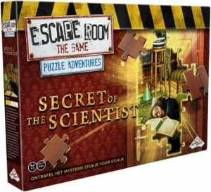 Identity Games: Escape Room the Game Puzzle Adventures Secret of the Scientist - escapespel